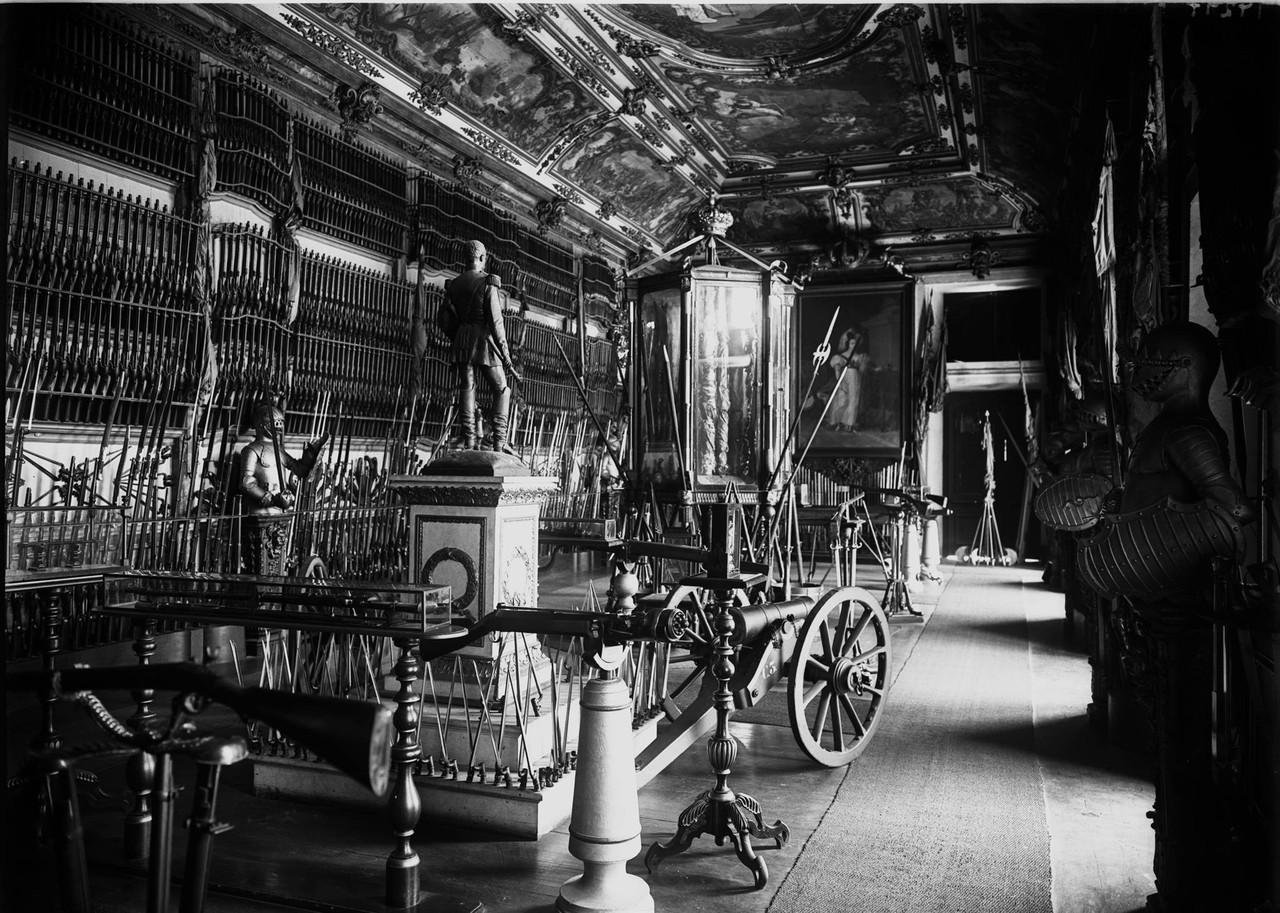 Museu de Artilharia, sala Dona Maria II, foto de A