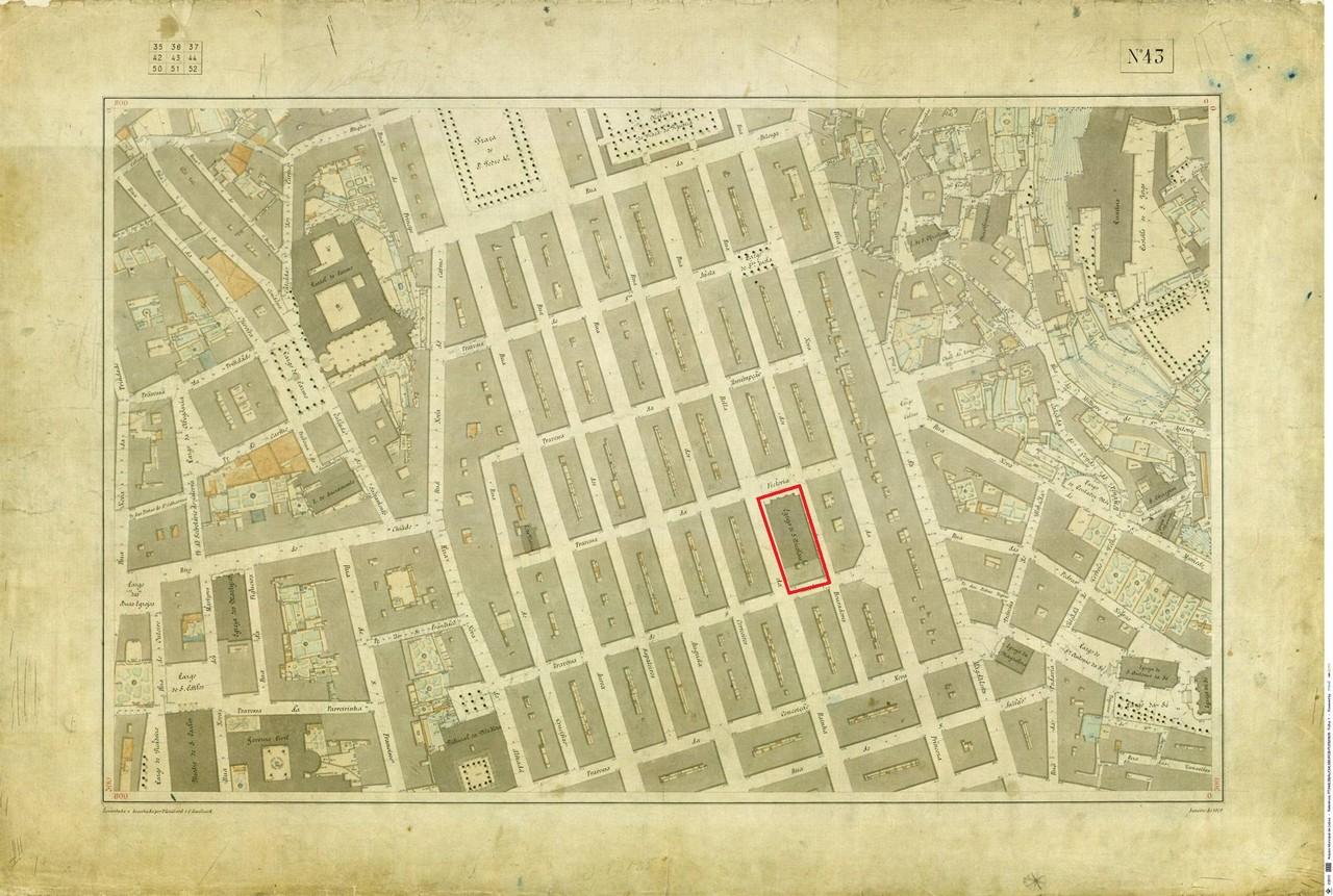 Levantamento topográfico de Francisco e César Go