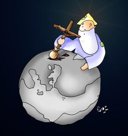 domingo Ramos C Dios planta a su hijo en la tierra