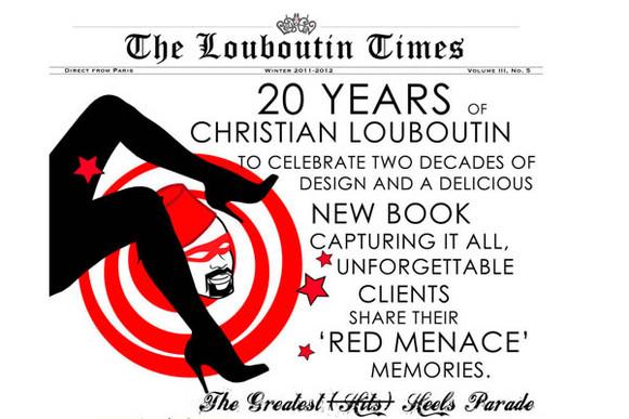 Christian Louboutin  - 20 anos