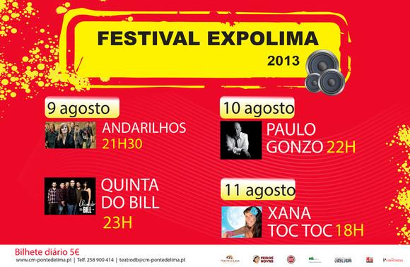 festival expolima cartaz
