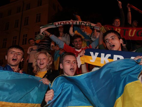 Festa ucraniana em Lviv