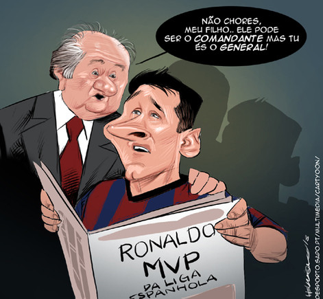 Cartoon Messi