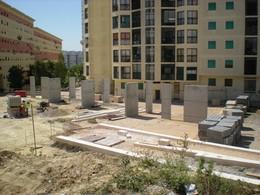 Obras na Praça do Armador - 28 de Maio de 2012