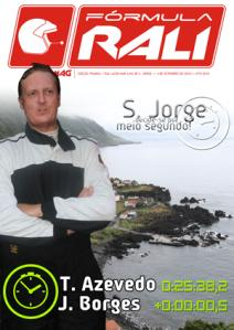 Capa da edição dedicada ao Rali de São Jorge...