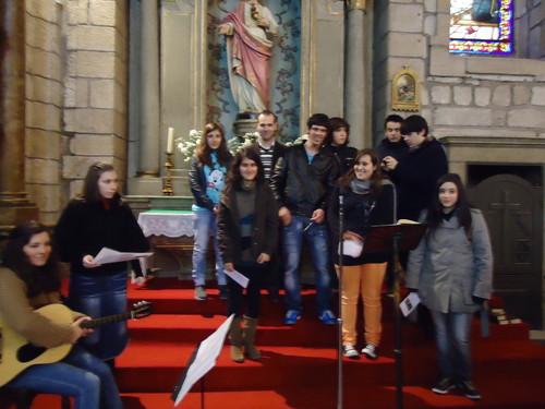 o grupo na Igreja Matriz 2