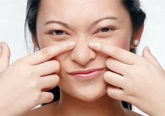 Como em um nariz para limpar poros em uma cara
