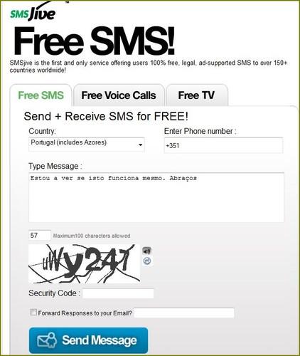send sms gratis