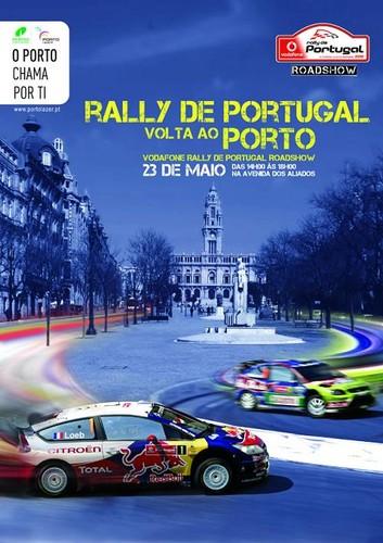 Os WRC estarão hoje de volta ao Norte...nos Aliados!