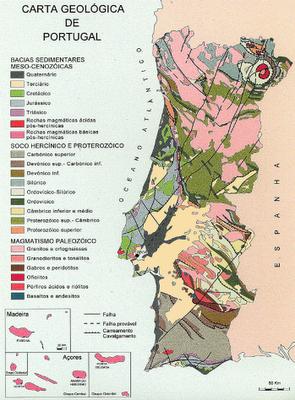 Exemplo de Carta Geológica
