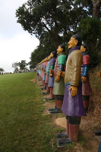 Soldados em terracota