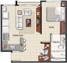planta do apartamento