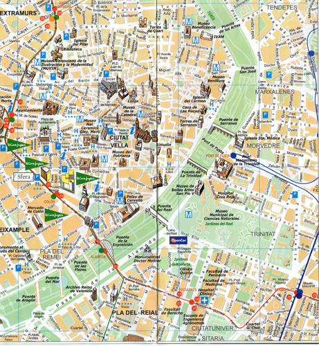 mapa de valencia espanha MAPA VALÊNCIA, ESPANHA   Hoje Conhecemos mapa de valencia espanha
