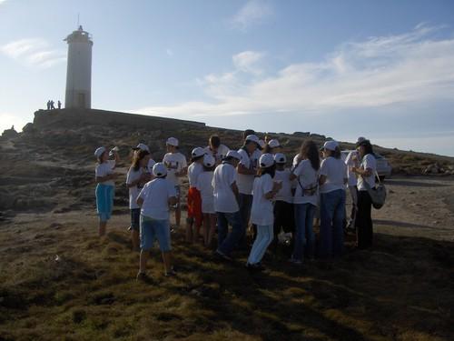 Crianças e jovens de Avintes visitam Ponteceso (Galiza) - 2006