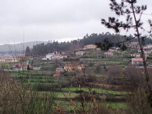 Padornelo, lugar da Valinha, visto desde o sítio de Pontelhas, em Lamamác – fotografia de Eduardo Daniel Cerqueira