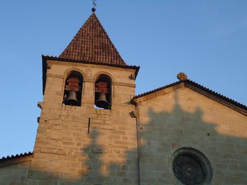 Pormenor da Torre Sineira da Igreja Matriz