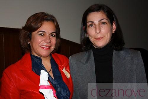 Elza Pais e Ana Catarina Mendes