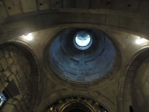 cúpula do Altar do Santíssimo Sacramento, Igreja Matriz, Chaves