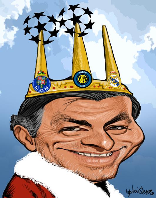 Mourinho, o rei do mundo