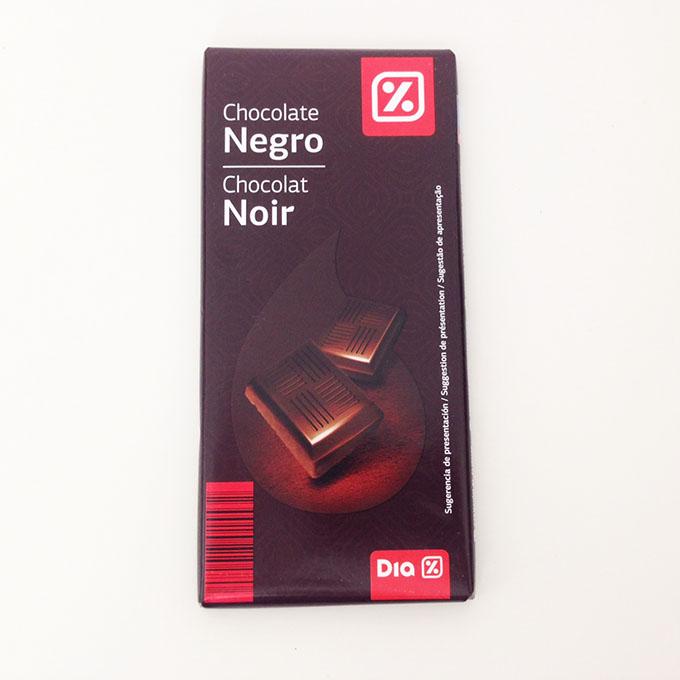 Chocolate preto marca dia
