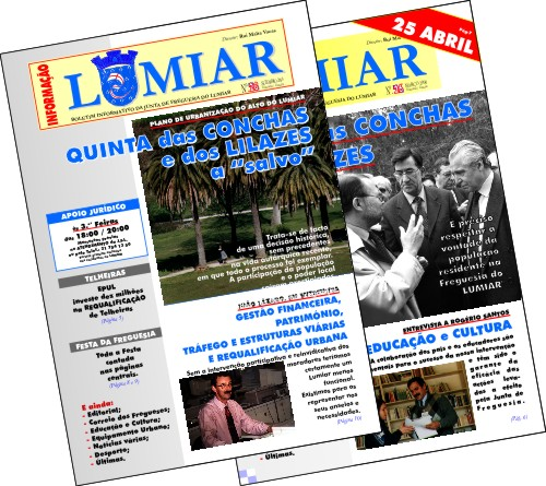 Junta Freguesia Lumiar | Boletim