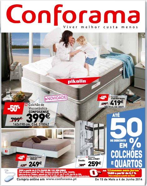 Novo folheto | CONFORAMA | de 15 maio a 4 junho