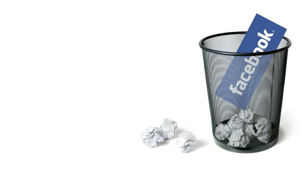 apagar conta no facebook