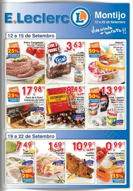 Folheto E-LECLERC Montijo até 22 setembro