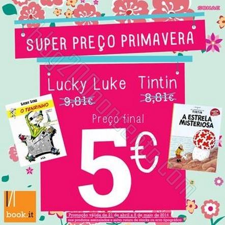 Promoções | BOOK.IT | até 5 maio - Livros desde 1€