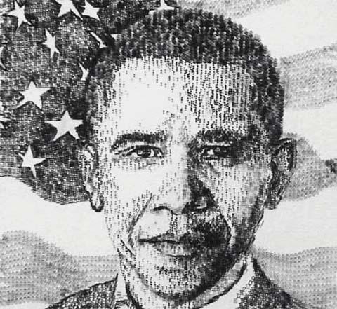 obama arte retrato