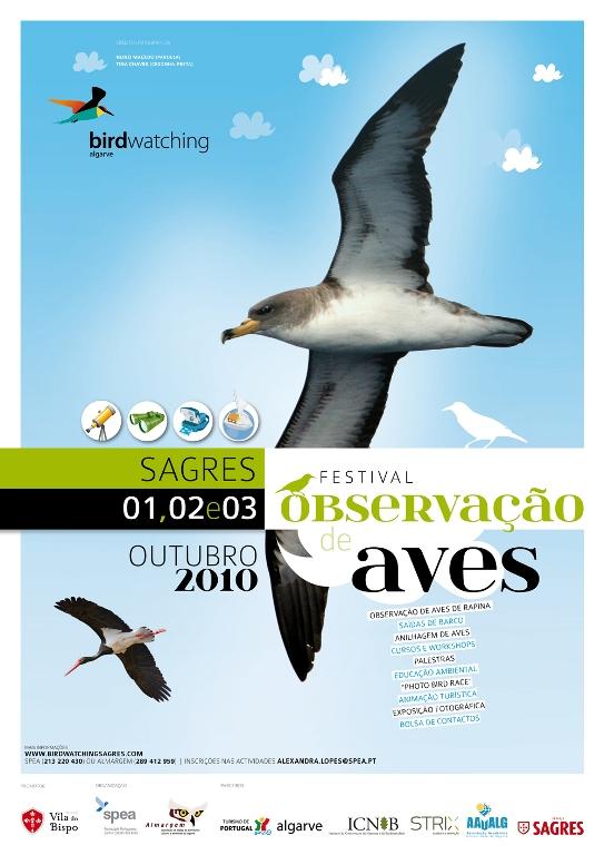 Birdwatching: Festival de Observação de Aves, Sagres, (1 a 3 de Outubro)