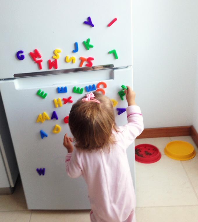 Brincar com letras