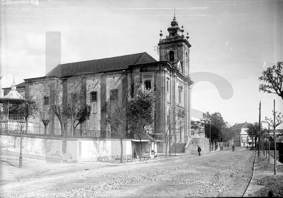 Igreja de N. Sr.ª do Amparo, Benfica (P. Guedes, c. 1900)